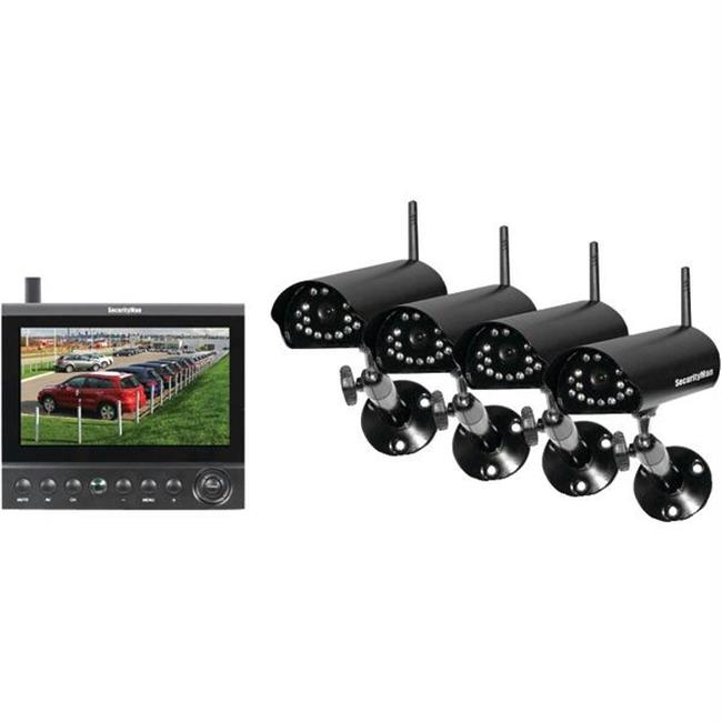 Completely wireless camera