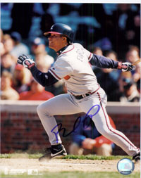 Powers Collectibles 25472 Signed Furcal Rafael Atlanta Braves 8x10 Photo