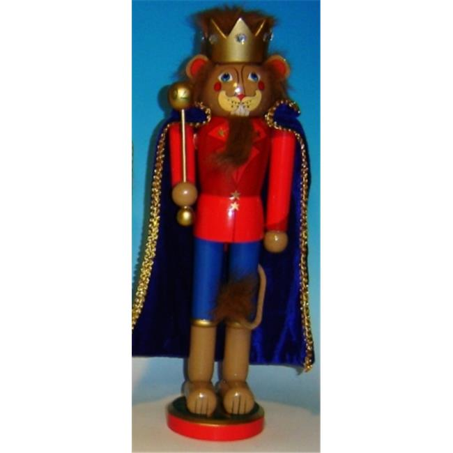 Horizons East 97027L Wizard of Oz - Lion Nutcracker