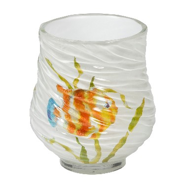 Creative Bath RBF11MULT Rainbow Fish Resin Tumbler