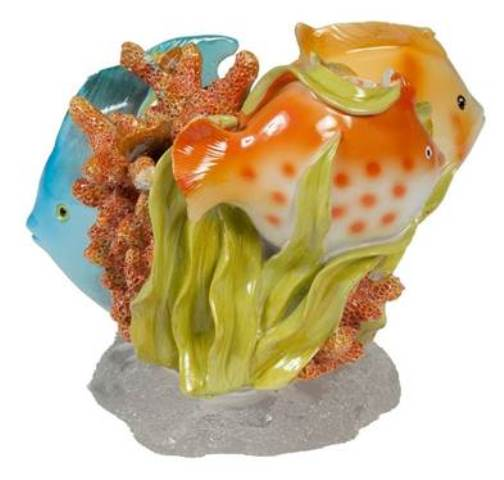 Creative Bath RBF60MULT Rainbow Fish Tropical Toothbrush Holder