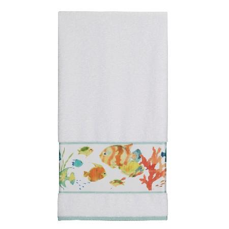 Rainbow Fish Printed Bath Towel