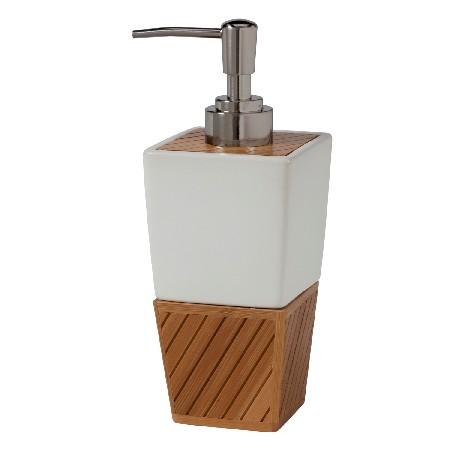 Creative Bath SBM59BR Spa Bamboo Lotion Dispenser