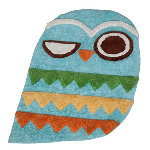 Creative Bath R1070MULT Give A Hoot Rug