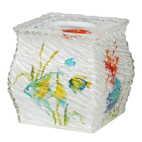 Creative Bath RBF58MULT Rainbow Fish Boutique Tissue