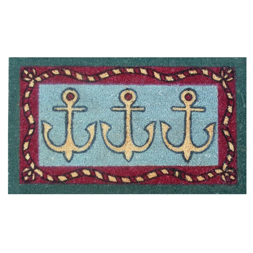 Home & More 12020 Anchors Away Doormat