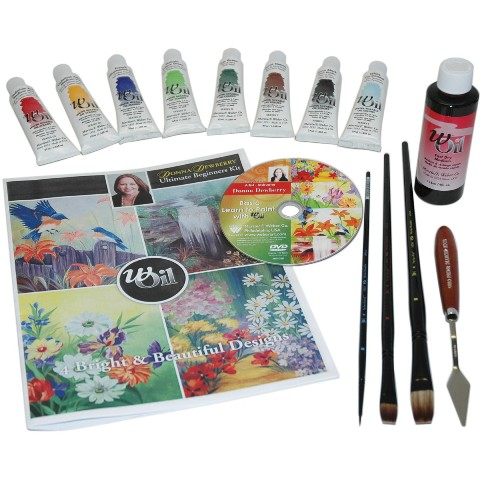 Martin F. Weber DD7461 Donna Dewberry Basic Learn to Paint Oil Set
