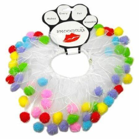 Mirage Pet Products 76-02  Md Birthday Fuzzy Wuzzy Smoochers M - 12 in.  Fuzzy