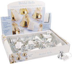 Darice 1402-87 Bridal Bells 2 - Pack of 4