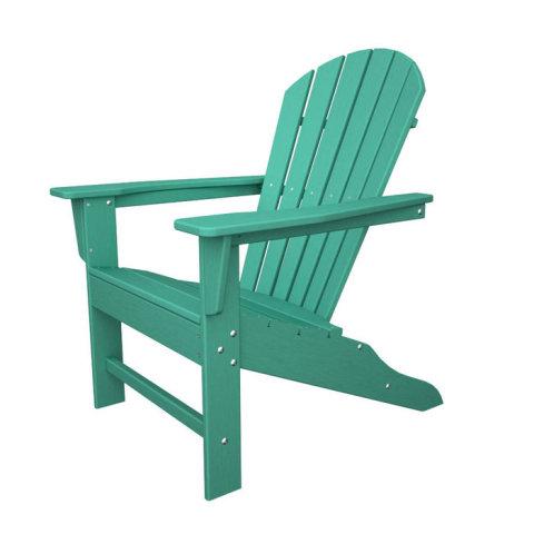 Poly Wood SBA15AR South Beach Adirondack Chair - Aruba