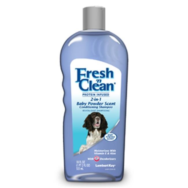 LAMBERT KAY 013TRP-5940 Fresh N Clean 2-in-1 Conditioning Shampoo, Baby Powder Scent