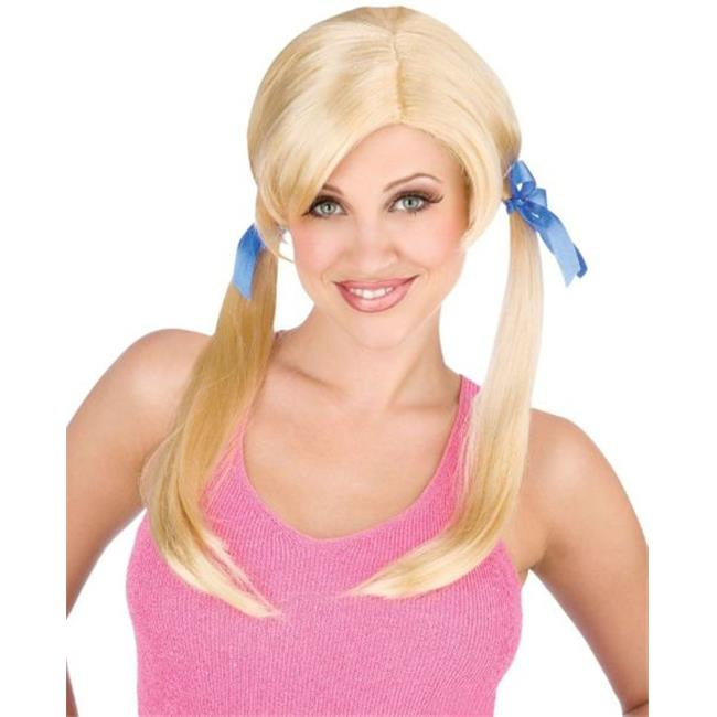 WMU 563532 Cheap Date Pig Tail Wig - Blonde