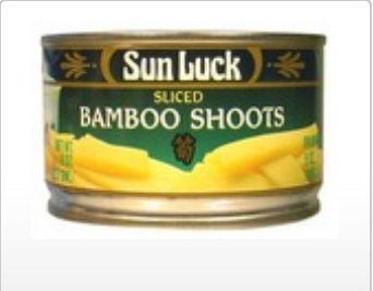 Sun Luck B20483 Sun Luck Sliced Bamboo Shoots -12x8 Oz