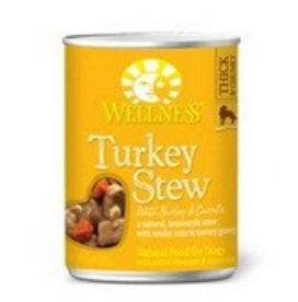 Wellness B60836 Wellness Turkey Stew With Barley and Carrots -12x12.5 Oz