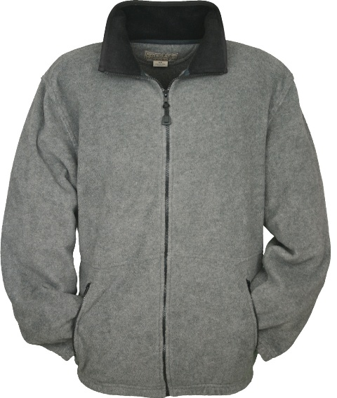 Colorado Timberline SJF Telluride Charcoal Fleece Jacket Large