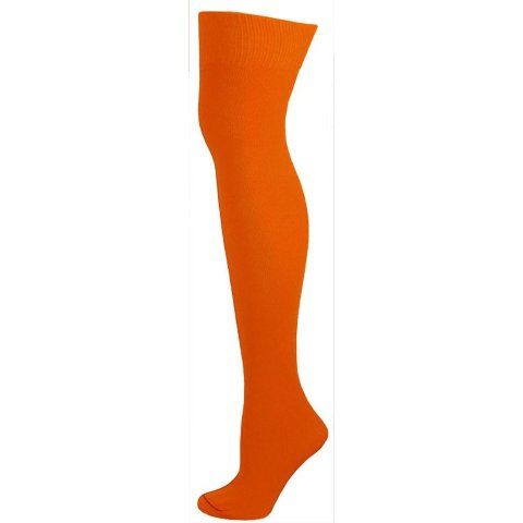 AJs A50619 Knee High Nylon Socks - Orange