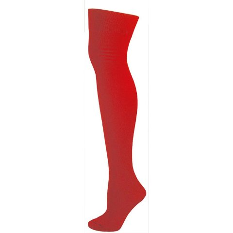 AJs A50621 Knee High Nylon Socks - Red