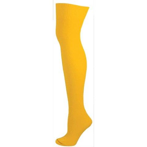 AJs A50624 Knee High Nylon Socks - Gold Yellow