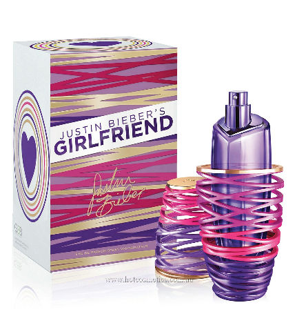 Image of Girlfriend by Justin Beiber Eau De Parfum Spray 1.7 oz