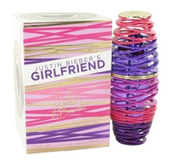 Image of Girlfriend by Justin Beiber Eau De Parfum Spray 3.4 oz