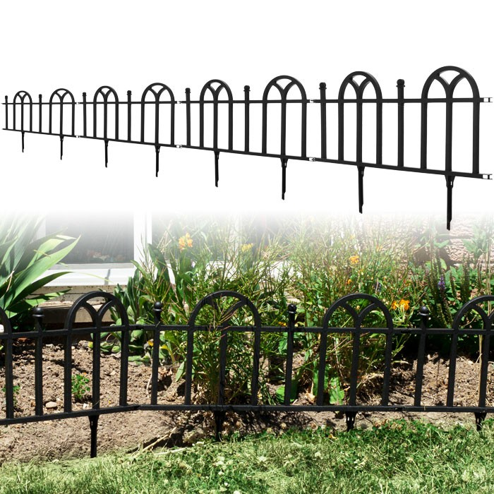 Trademark Poker 82-YJ463 Victorian Garden Border Fencing Set by TerraTrade
