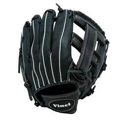 Vinci Co. BRV 1951 LHT Baseball Glove 11.5 inch Youth - Kids - CP Junior  Left Handed Thrower - BLK VNCI041