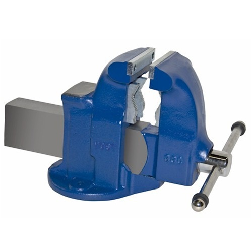 "Yost Vises 10133 5"" Heavy Duty Combination Pipe and Bench Vise G�� Stationary Base"