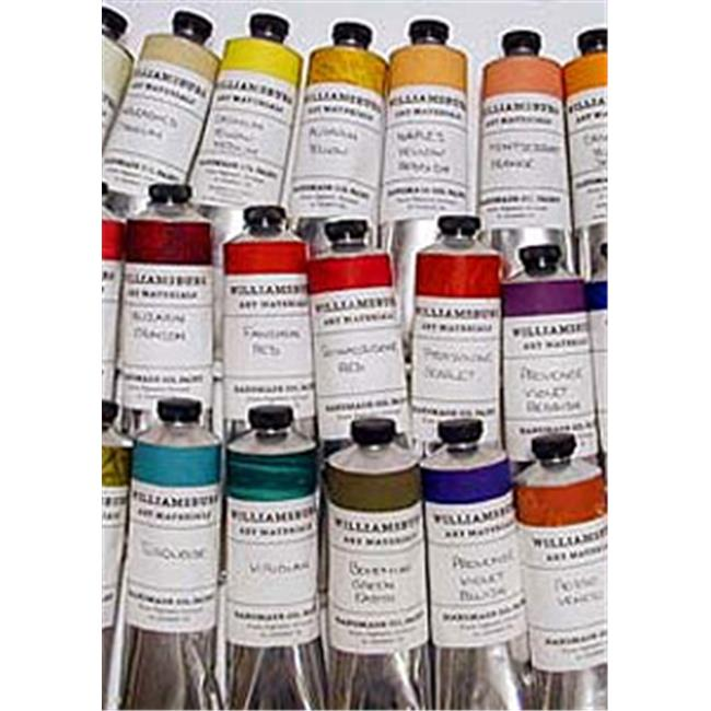 Williamsburg M622801 8.88 in. Oil Color Paint Display Assortment