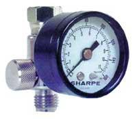 Sharpe Manufacturing SHA3310 Air Adjusting Regulator with Gauge 0-160psi 36AAV-HV DOBA13306