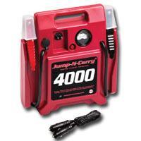 SOLAR SOLJNC4000 Jump-N-Carry 12 Volt Jump Starter - 1100 Peak Amps. 325 Cranking Amps