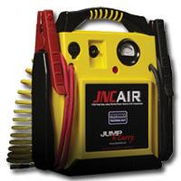 SOLAR SOLJNCAIR Jump-N-Carry 12 Volt Jump Starter/Air Compressor/Power Source