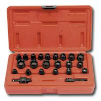 23 Piece 1/4 Inch Drive Master Magnetic Impact Socket Set