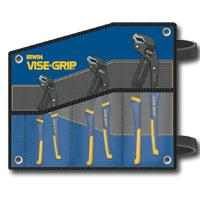 Vise Grip VGP2078711 3 Pc. GrooveLock Kit Bag Set