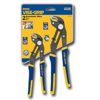 Vise Grip VGP2078709 2 Pc GrooveLock Pliers Clamshell Set