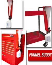 Whiteside Mfg WHIFNLBDY Funnel Holder/Storage System