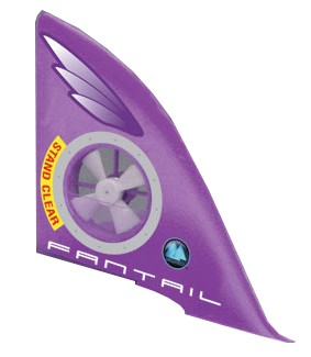 Megatech Fantail Flyer Vertical Tail Assembly With Motor