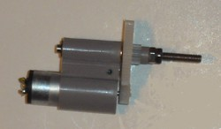 Megatech Fantail Flyer Motor With Gearshaft