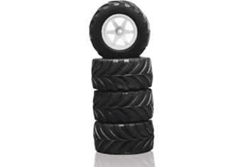 Megatech Megapro All Terrain Tires With Rims -4