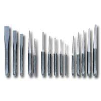 K Tool International KTI72901 15 Piece Punch and Chisel Set