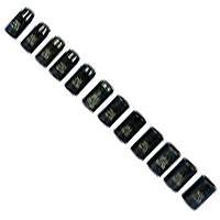 K Tool International KTI38100 12 Piece 1/2 Inch Drive Metric Impact Socket Set