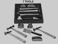 Martin Tools MRT647KFG 7 Piece Body and Fender Repair Set with Fiberglass Handles