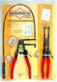Mayhew MAY28655 2 Piece Hose Clamp Plier Set
