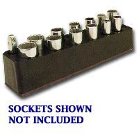 Mechanics Time Saver MTS777 3/8 Inch Drive Deep Red Socket Holder 5.5-22mm