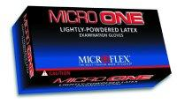 Micro Flex MFXMO150L Large Micro-One Latex Lightly Powdered Glove - 100 Per Box