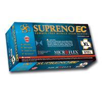 Micro Flex MFXSEC375L Large Supreno Powder Free Extended Cuff Nitrile Gloves