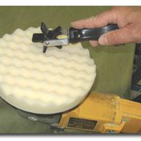 Motor Guard JLMSD-1 Foam Polishing Pad Cleaning Tool
