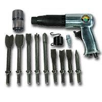 Mountain MTN7330 Air Hammer and 9 Piece Chisel Set