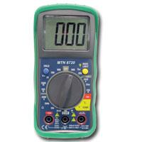 Mountain MTN8720 Digital Multimeter with Built-in Temperature Readings