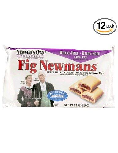 Newmans Own Organics 59686 Newmans Own Organic Fig Newmans Wheat Free -6x13 Oz BA59686