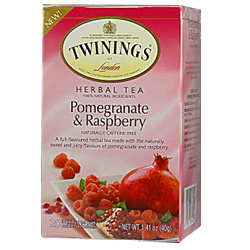 Twinings Herbal Pomegranate Raspberry Tea -6x20 Bag